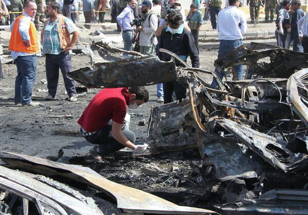 Double attentat de Damas: le Conseil de sécurité condamne - Sputnik France