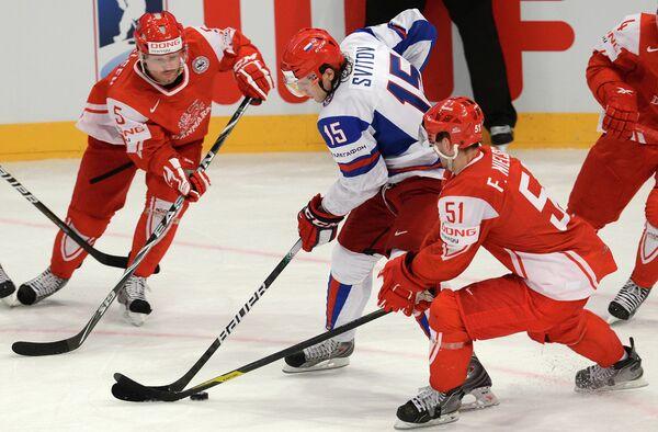 Hockey - Mondiaux: quatrième victoire consécutive pour les Russes - Sputnik France