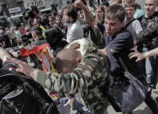 Moscou: 40 interpellations lors d'une gay pride non-autorisée - Sputnik France