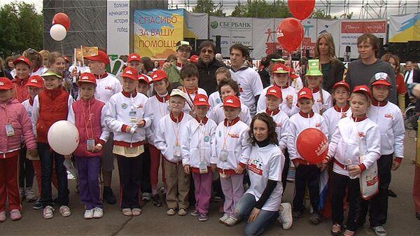 Jeux des enfants survivants du cancer à Moscou - Sputnik France