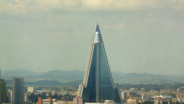 Гостиница Рюген в Пхеньяне - Sputnik France
