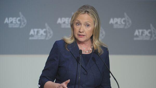 Secrétaire d'Etat américaine Hillary Clinton - Sputnik France