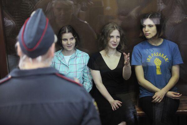 Les clips vidéo des Pussy Riot reconnus extrémistes en Russie - Sputnik France