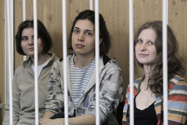 Groupe Pussy Riot - Sputnik France