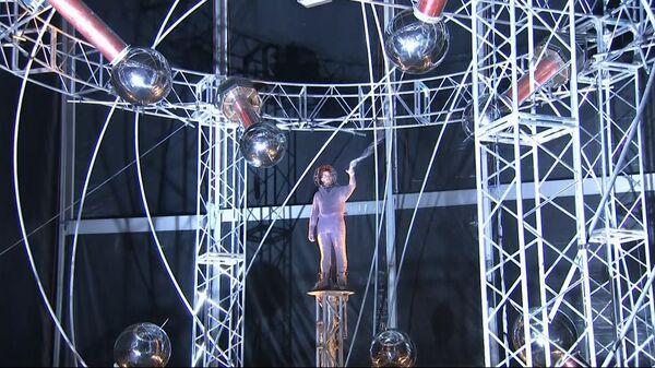 L'illusionniste David Blaine affronte une tempête électrique  - Sputnik France