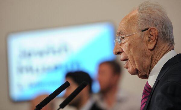 Président israélien Shimon Peres - Sputnik France