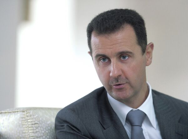 Le président syrien Bachar el-Assad - Sputnik France