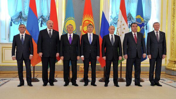 В.Путин на сессии Совета ОДКБ в Кремле - Sputnik France