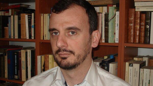 Alexandre Latsa - Sputnik France