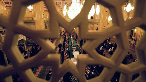 Les reliques du prophète Mohammed exposées dans une mosquée (archives) - Sputnik France