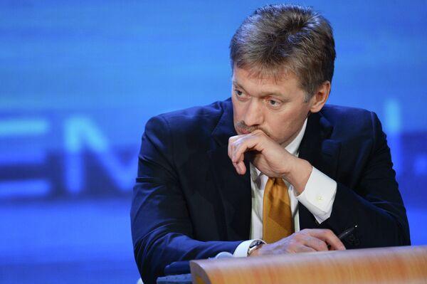 Le porte-parole du président russe Dmitri Peskov - Sputnik France