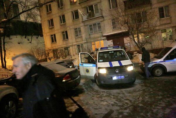 M.Morvan, 45 ans, a été retrouvé mort avec des blessures à la tête dans son domicile, rue Iaouzskaïa, au centre de Moscou. - Sputnik France