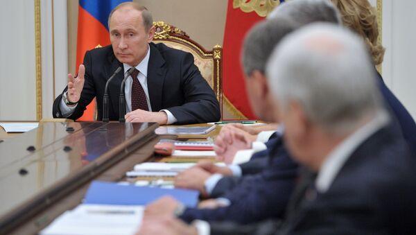 Réunion du Conseil de sécurité de Russie - Sputnik France