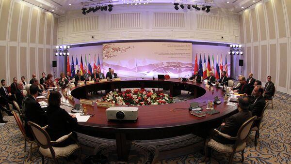 Rencontre entre les représentants des Six et de l'Iran au Kazakhstan (archive) - Sputnik France
