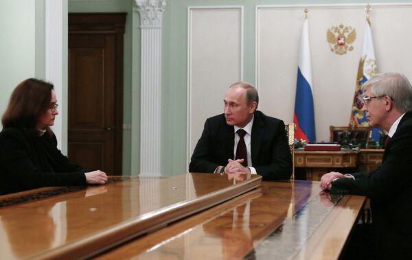 Poutine propose l'ex-ministre Nabioullina comme présidente de la Banque centrale - Sputnik France