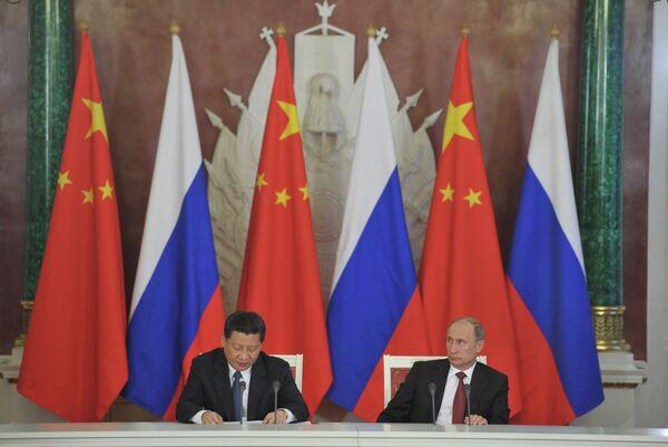 Xi Jinping en Russie: les relations avec Moscou prioritaires pour Pékin - Sputnik France