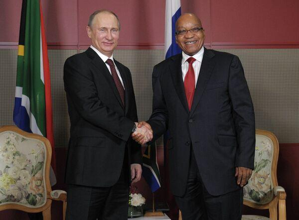 Russie-Afrique du Sud: coopérer dans l'aéronautique (Poutine) - Sputnik France