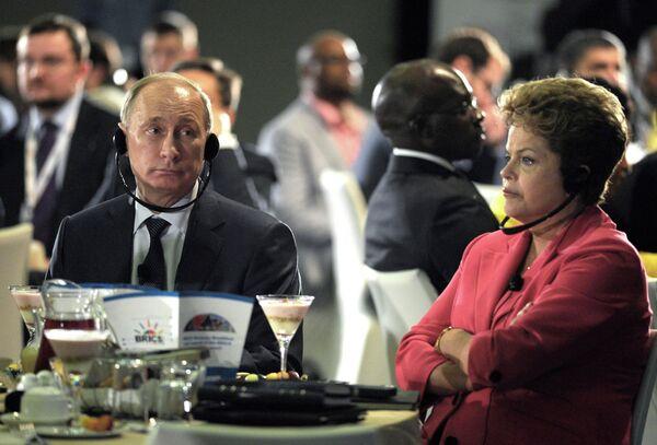 Les BRICS créent un Conseil d'affaires - Sputnik France