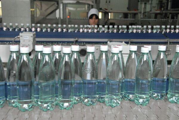 L'eau minérale géorgienne Borjomi - Sputnik France