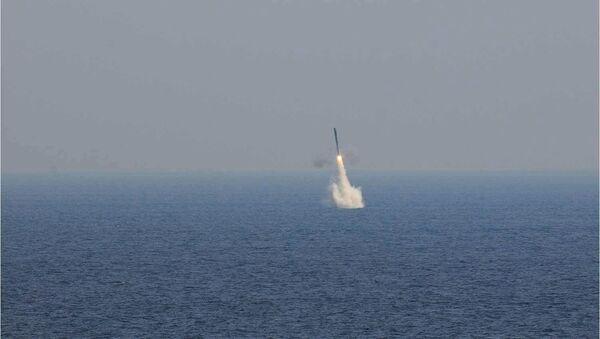 Inde: 1er tir d'un missile russo-indien BrahMos depuis le destroyer Kolkata - Sputnik France