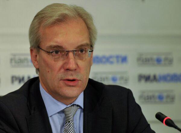 Le représentant de la Russie auprès de l'Alliance atlantique Alexandre Grouchko - Sputnik France