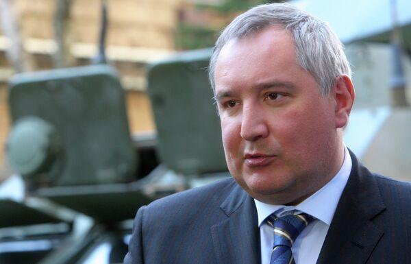 Dmitri Rogozine, vice-premier ministre russe chargé de l'industrie de défense - Sputnik France