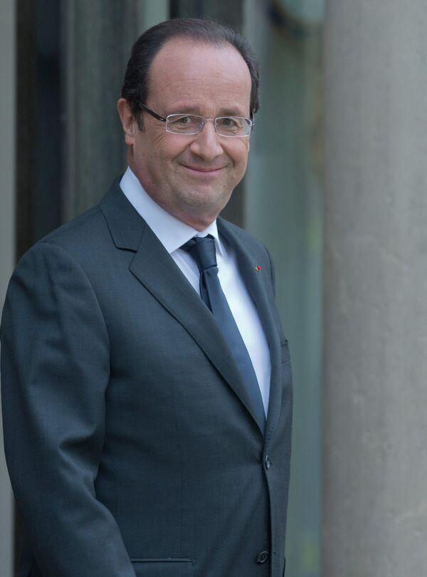 Le président français François Hollande - Sputnik France