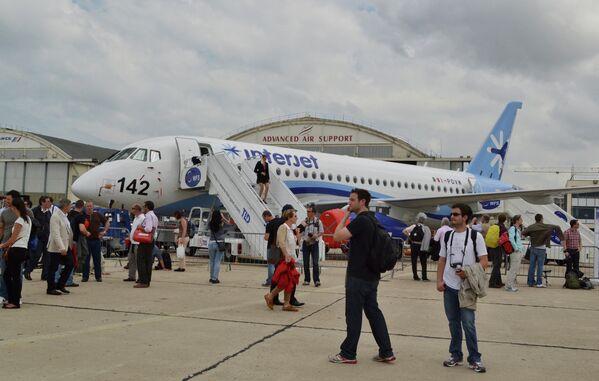Les avions russes de l'OAK, stars du Bourget - Sputnik France