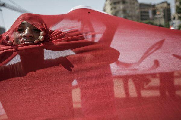 Images des manifestations massives du Caire - Sputnik France