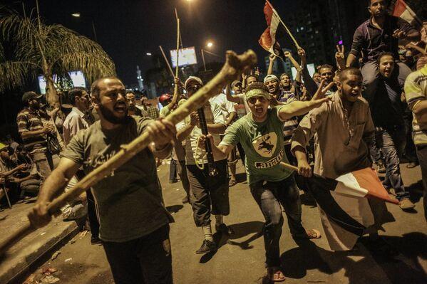 Chez les partisans du président déchu Mohamed Morsi - Sputnik France