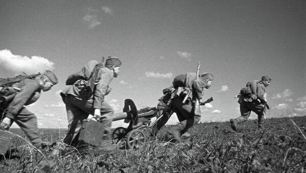 Images d'archives de la bataille de Koursk, en août 1943 - Sputnik France