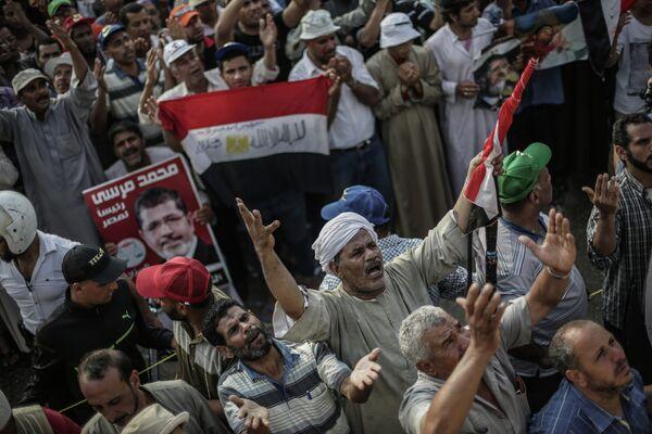 Manifestants pro-Morsi au Caire - Sputnik France