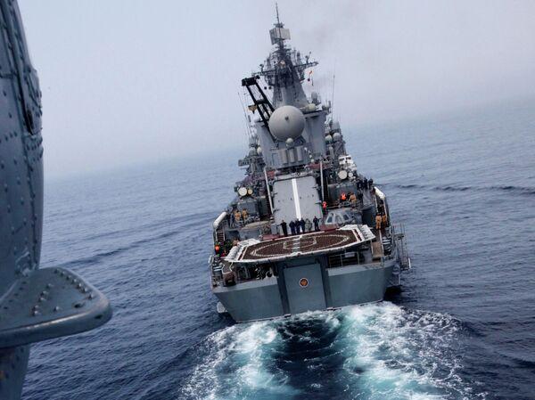 Méditerranée: le croiseur russe Variag fait escale à Alexandrie - Sputnik France