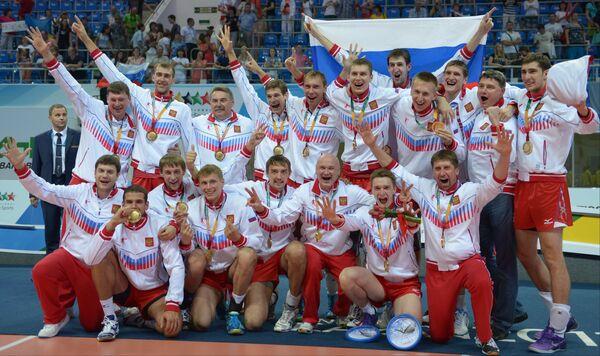 Universiade: les volleyeurs apportent la 150e médaille d'or à la Russie - Sputnik France
