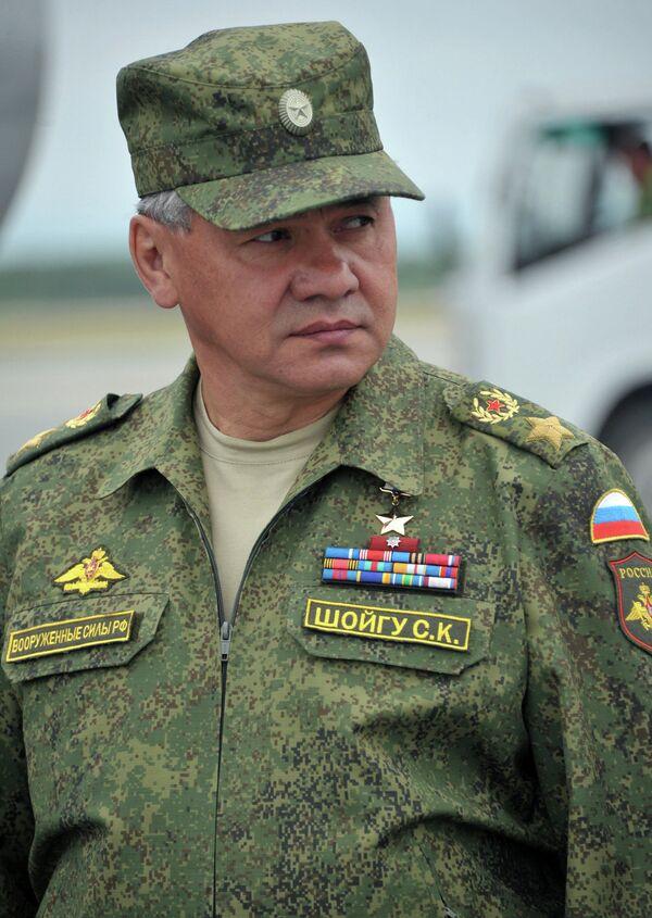 Le ministre de la Défense russe Sergueï Choïgo - Sputnik France