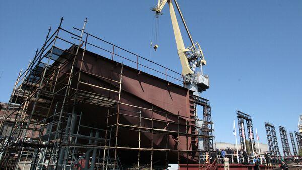 Centrale nucléaire flottante russe - Sputnik France