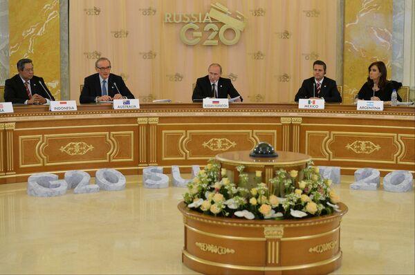 G20 de Saint-Pétersbourg: Poutine appelle à accélérer la réforme du FMI - Sputnik France