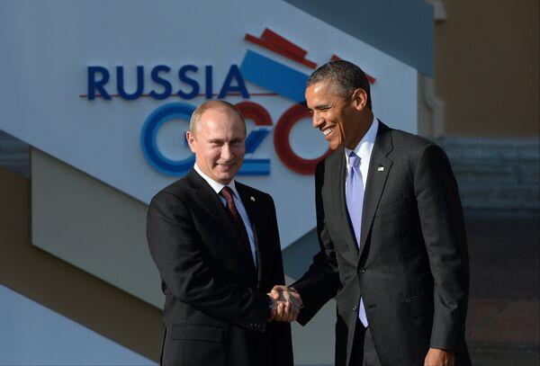 Syrie: entretien Poutine-Obama en marge du G20 (Kremlin) - Sputnik France