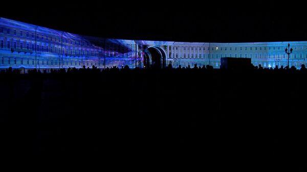 Spectacle Le présent russe en 3D à Saint-Pétersbourg - Sputnik France