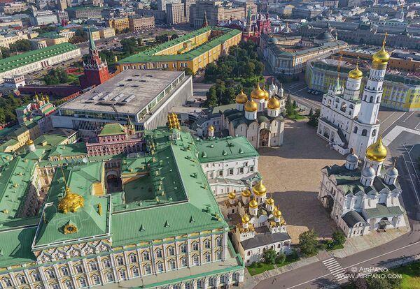 Une visite virtuelle 360° du Kremlin présentée à Moscou - Sputnik France