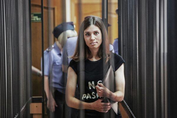 Nadejda Tolokonnikova - Sputnik France