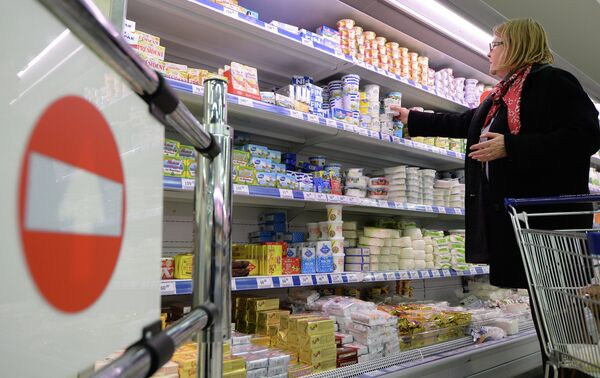 Sanctions: Moscou publie la liste des produits interdits d'importation - Sputnik France