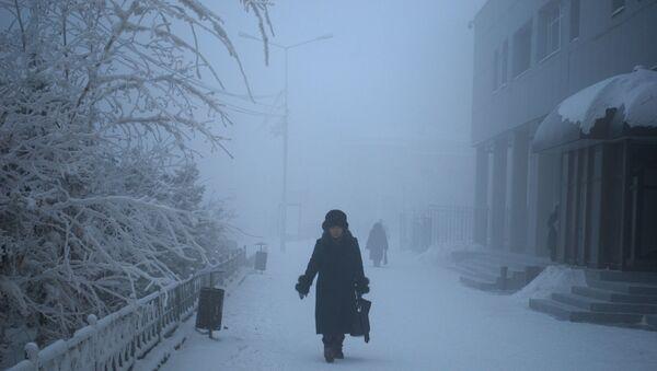 Сильные морозы в Якутске - Sputnik France