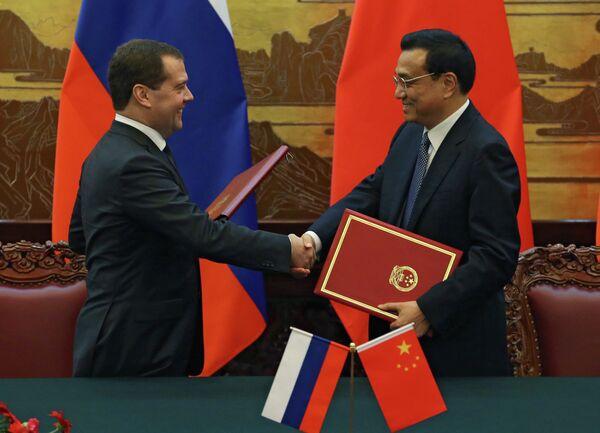 Russie-Chine: les premiers ministres se réuniront en octobre à Moscou - Sputnik France