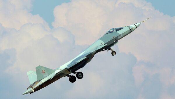 Самолет Т-50 - Sputnik France