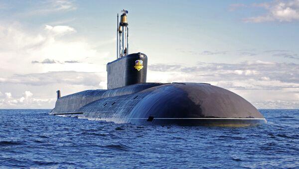 Sous-marin nucléaire du projet 955 Boreï Alexandre Nevski - Sputnik France