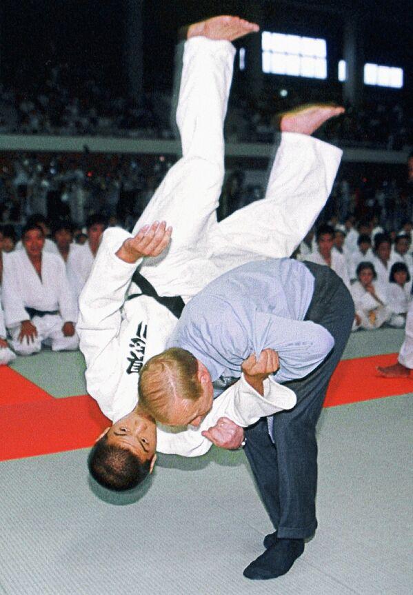 Vladimir Poutine, Grand Maître de taekwondo - Sputnik France