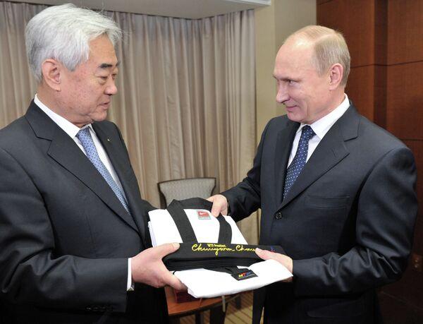 Le président Poutine nommé Grand Maître de taekwondo en Corée du Sud - Sputnik France