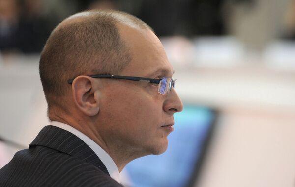 Le directeur général de Rosatom, Sergueï Kirienko - Sputnik France