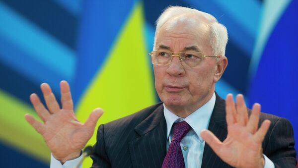 Ex-premier ministre de l'Ukraine Nikolaï Azarov - Sputnik France